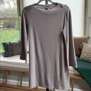 Wilfred Free Cozy Sweater Dress in Gray - Purple